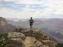 Fleming at Grand Canyon