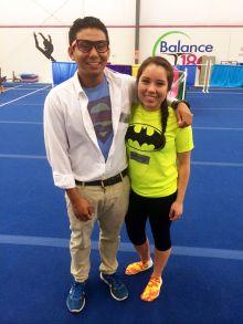 Chris and Nathalie at Balance 180